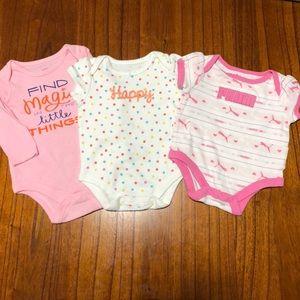 Baby Girl Onesie Bundle 0-3mo